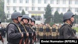 Қырғызстан полиция жасағы (Көрнекі сурет).