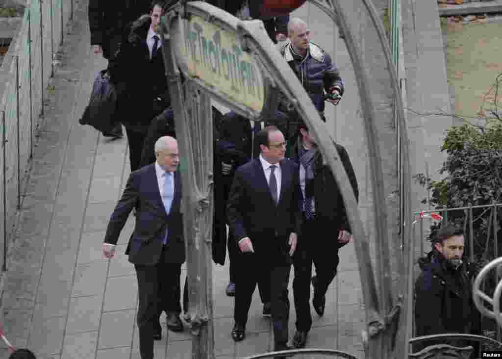 Франция президенты Франсуа Олланд Һөҗүм булган урынга килеп бу хәлне террор гамәле дип бәяләде.