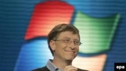 «Майкрософт» компаниясынын жетекчиси Билл Гейтс.