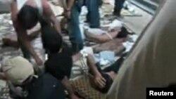 Повредени и загинати лица при нападите во Сирија
