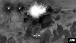 Ռուսաստանի պաշտպանության նախարարությունը հաղորդել է Սիրիայում իրականացրած օդային գրոհի մասին, 1 հոկտեմբերի, 2015թ.
