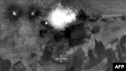 Satelitski snimci ruskih zračnih udara