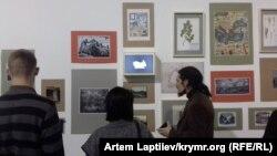 Открытие выставки «Удивительные истории Крыма» в Киеве, 26 февраля 2019 года