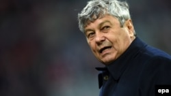 Mircea Lucescu (file photo) was fired by Zenit St. Petersburg.