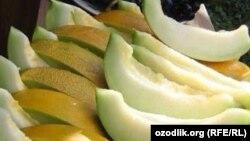Uzbekistan - melon in Uzbekistan