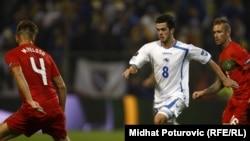 Kvalifikacije za EP, fudbalski meč Portugal - BiH, Zenica, 11. novembar 2011.