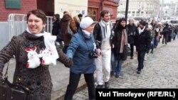 """Protestna akcija u Moskvi u proleće 2012. Tada nije uspeo građanski pokušaj """"povratka u politiku"""""""