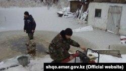 В Восточно-Казахстанской области последствия наводнения.