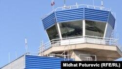 Kontrolni toranj na Međunarodnom aerodromu Sarajevo