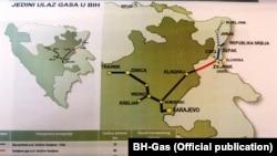 Mapa gasovoda