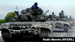 Russia/Daghestan -- Russia begins full-scale war in the North Caucasus, Dagestan, 01Oct2012