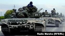 Русия хәрбиләре Дагыстанда авыр хәрби техника белән зур хәрби чаралар уздыра