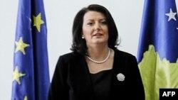 Косовската претседателка Атифете Јахјага