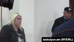 Անահիտ Պետրոսյանը դատարանի դահլիճում: