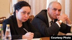 Министр финансов Абхазии Амра Кварандзия. Фото: Sputnik