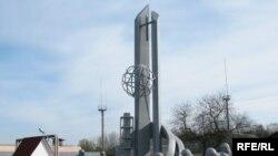 Пам'ятник першим чорнобильцям-ліквідаторам