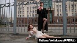 Акция за честный и справедливый суд в Санкт-Петербурге