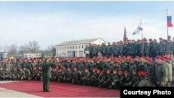 Батальон Южного военного округа прибыл в Дагестан