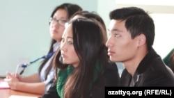 ZhasCamp 2012 конференциясына қатысушылар. Алматы, 13 қазан 2012 ж.