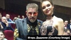 Игорь Дадиани с Юлией Полячихиной
