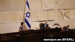 Обсуждение резолюции о признании Геноцида армян в парламенте Израиля, 23 мая 2018 г.