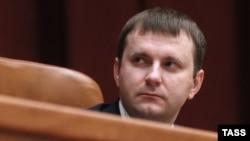 Maksim Oreshkin, Rusiya iqtisadi inkişaf naziri.