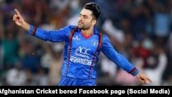 FILE: Afghan bowler Rashid Khan