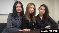 Айгуль Ахметова, Тасия Альбариньо, Дина Нурм