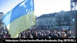 Євромайдан у Рівному, 22 грудня 2013 року