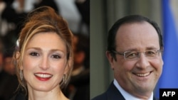 Julie Gayet dhe Francois Hollande