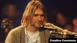 Курт Кобейн, лидер группы Nirvana, умерший в 1994 году.