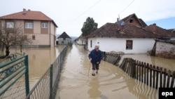 Наводнение в Сербии.