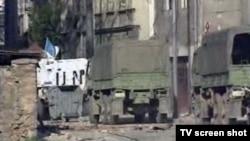 Vozilo bivše JNA na ulicama Sarajeva, ilustrativna fotografija