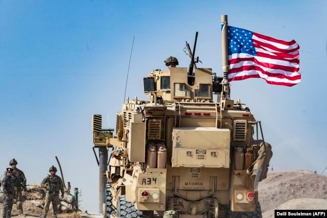 Вывод американских войск с северо-востока Сирии. 7 октября 2019 года