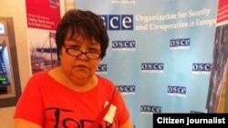 Руководитель международной правозащитной организации «Клуб Пламенных Сердец» Мутабар Таджибаева.