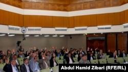 قوى كردستانية تصوّت في البرلمان