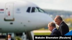 Россия ва Туркия президентлари.