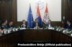 Заседание Совета безопасности Сербии, 21 ноября