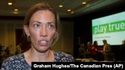 Председатель комитета атлетов ВАДА, олимпийская чемпионка по лыжам Бекки Скотт из Канады