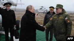Владимир Путин и Анатолий Сидоров
