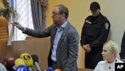 Юлия Тимошенко в зале суда