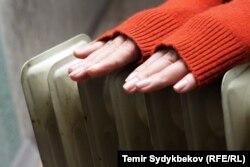 В многоквартирных домах Бишкека отключили тепло. 28 января 2018 года.