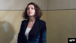 Журналист Жанна Немцова.