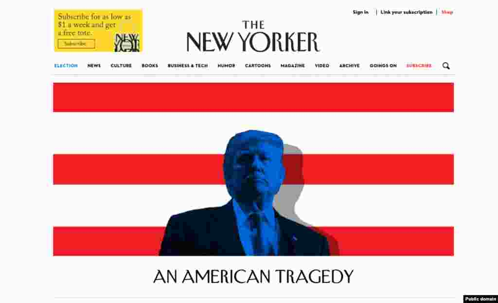 The New Yorker's website.
