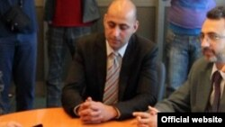 Потпретседателот на СДСМ Гордан Георгиев.