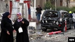 Bagdad - zgarište posle jednog bombaškog napada