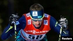 Қазақстан шаңғышысы Алексей Полторанин