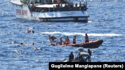 Операция по спасению мигрантов в Средиземном море у берегов Испании, 20 августа 2019
