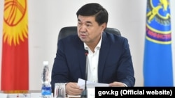 Former Prime Minister Mukhammedkalyi Abylgaziev was arrested on January 27 on corruption charges.