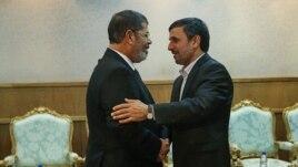 Mohamed Morsi i Mahmud Ahmadinedžad